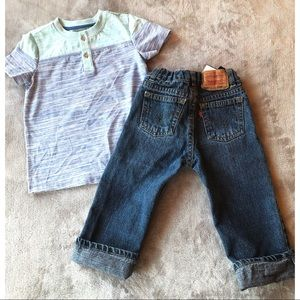 Levi's Bottoms - KIDS HOST PICK《 Boys bundle《 Crew Box 》